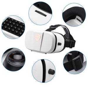 Excelvan GBS V3 - Gafas 3D VR Box Realidad Virtual