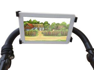 soporte tablet carrito de paseo